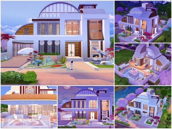 The Sims Resource: Future Vision house by Moniamay72