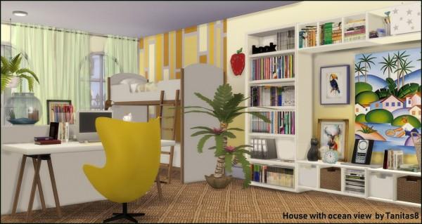 Tanitas Sims: House with ocean view