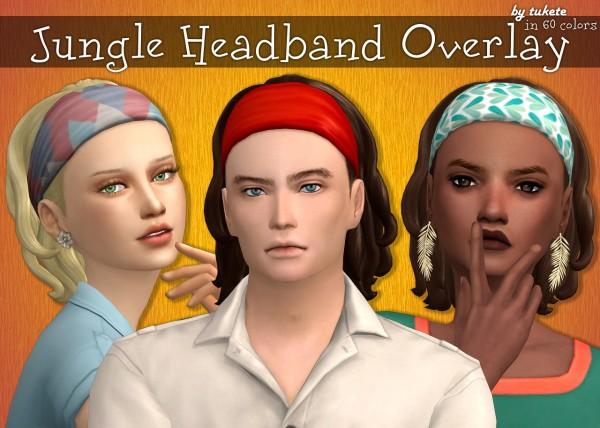 Tukete: Jungle Headband Overlay