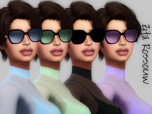 The Sims Resource: Color Shades glasses by ZitaRossouw