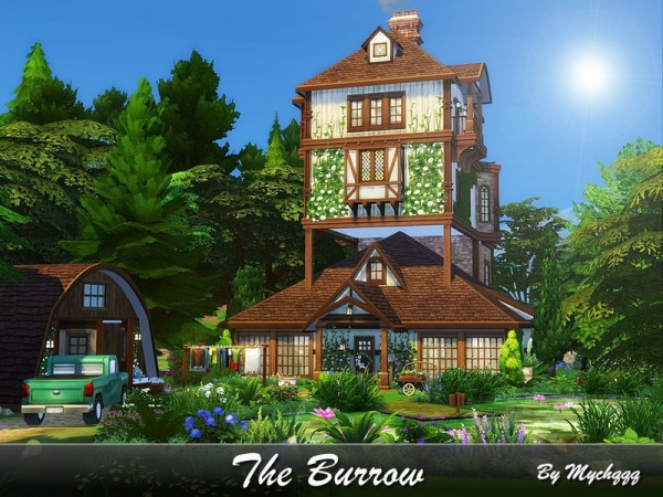 The Sims Resource: The Burrow house by MychQQQ