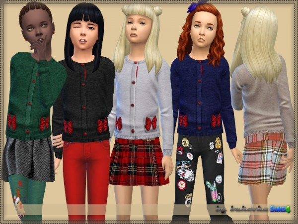 The Sims Resource: Sweater Bow by Bukovka