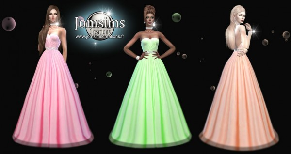 Jom Sims Creations: Avess dress