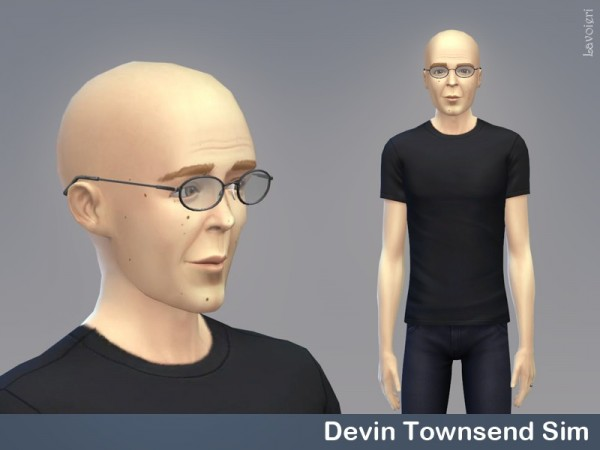 The Sims Resource: Devin Townsend by Lavoieri