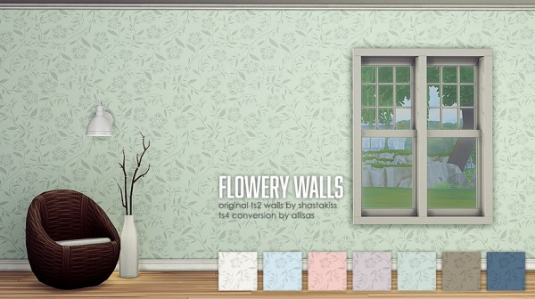 Allisas: Dots ,Flowery and Seeds Walls