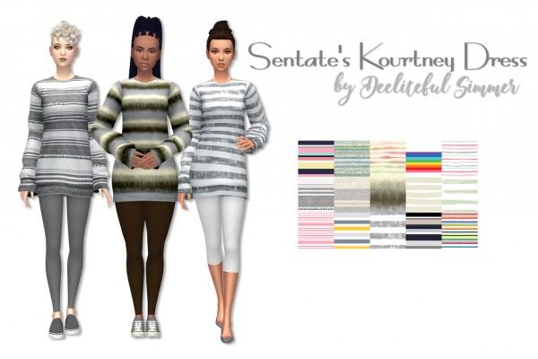 Deelitefulsimmer: Kourtney dress recolored