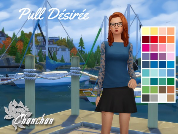 Sims Artists: Desire sweater