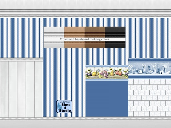 The Sims Resource: Classic Wallpaper set by dgandy