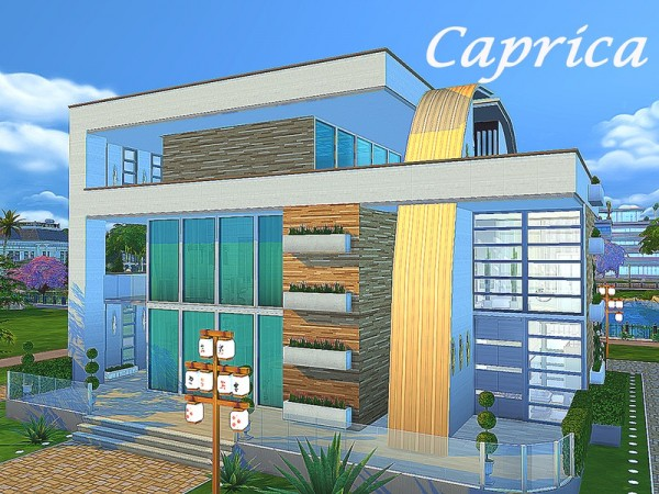 The Sims Resource: Caprica by Sims House