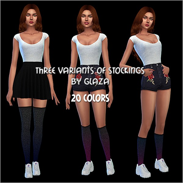 All by Glaza: Three variants of stockings