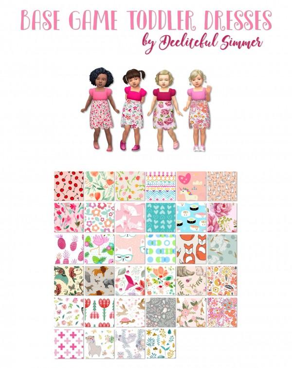 Deelitefulsimmer: Base game toddler dress