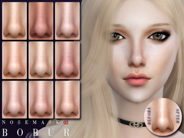 The Sims Resource: Nose 02 by Bobur 3