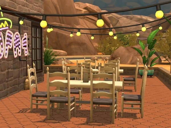 The Sims Resource: Restaurant la paz no cc by flubs