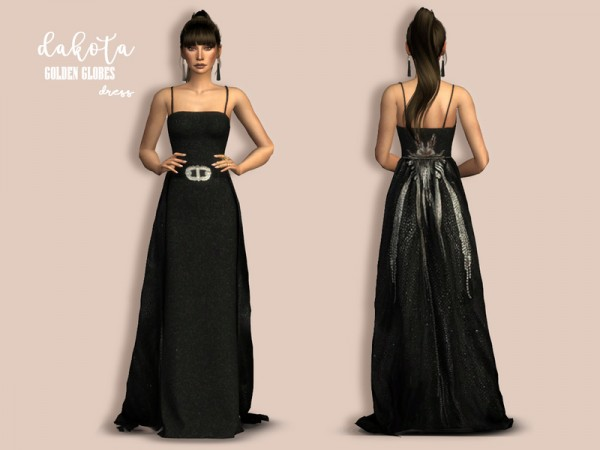 The Sims Resource: Dakota dress by Laupipi