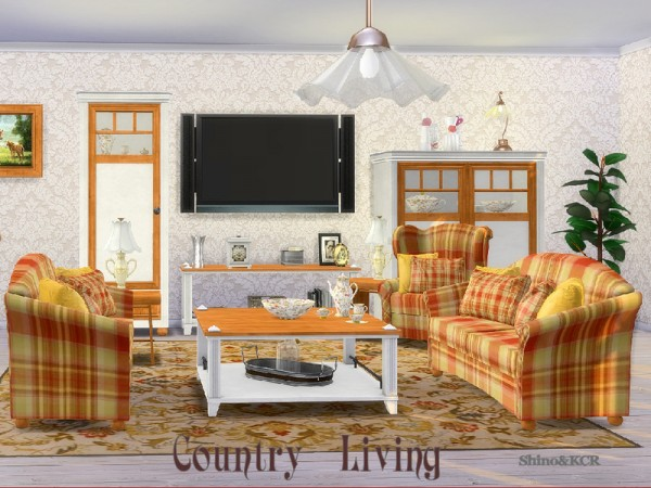 The Sims Resource: Country Livingroom by ShinoKCR