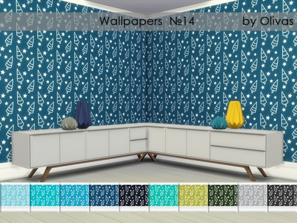 The Sims Resource: Wallpapers Set 7 by Olivas