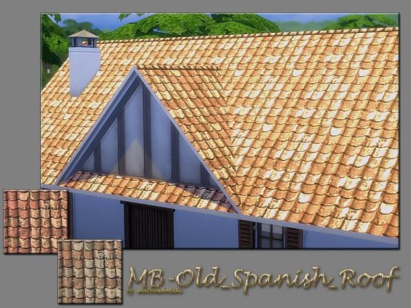 The Sims Resource: Old Spanish Roof by matomibotaki