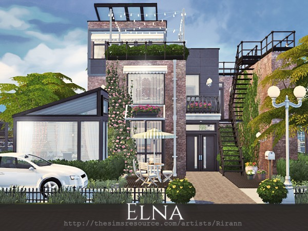 The Sims Resource: Elna house by Rirann