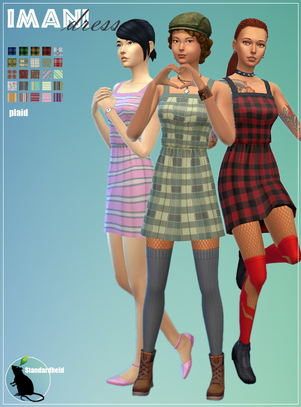 Simsworkshop: Imani Dress recolored by Standardheld