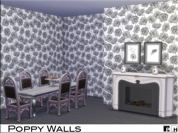 The Sims Resource: Poppy Walls by Pinkfizzzzz