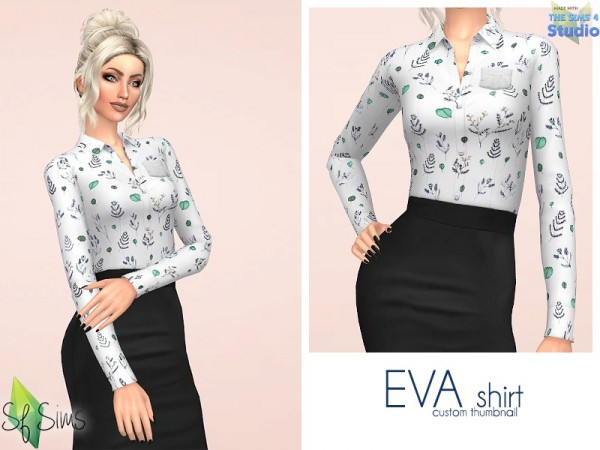 The Sims Resource: EVA shirt by SF Sims