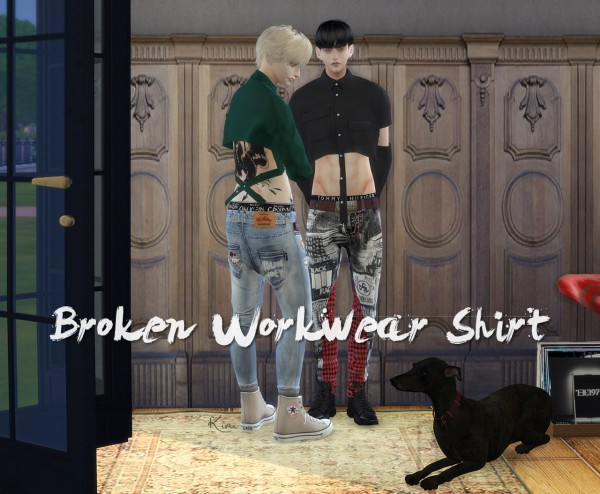 Kiru: Broken Workwear Shirt