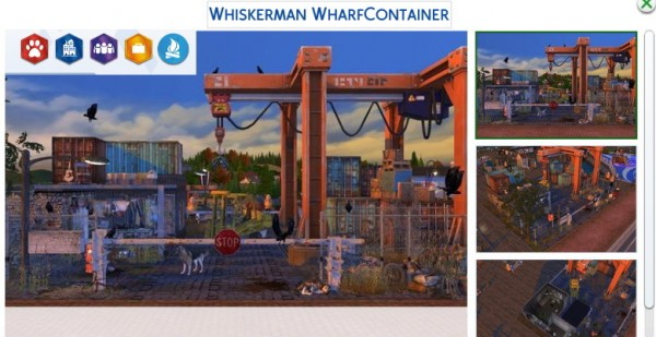 Tanitas Sims: Whiskerman Wharf Container House