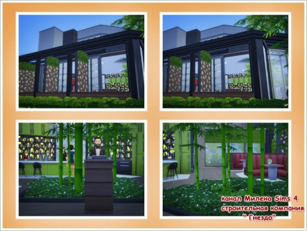 Sims 3 by Mulena: Restaurant Ginger