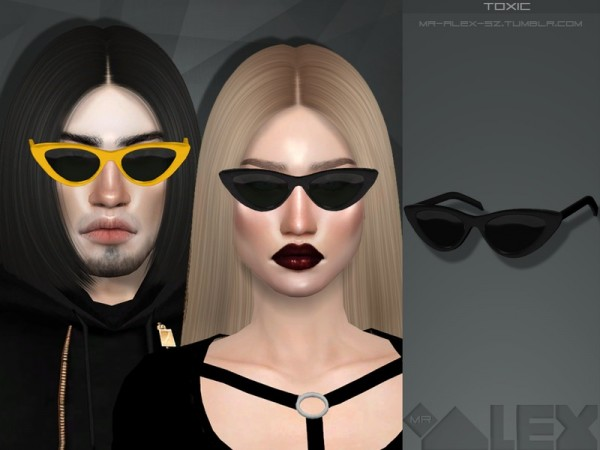 The Sims Resource: Toxic glasses by Mr Alex