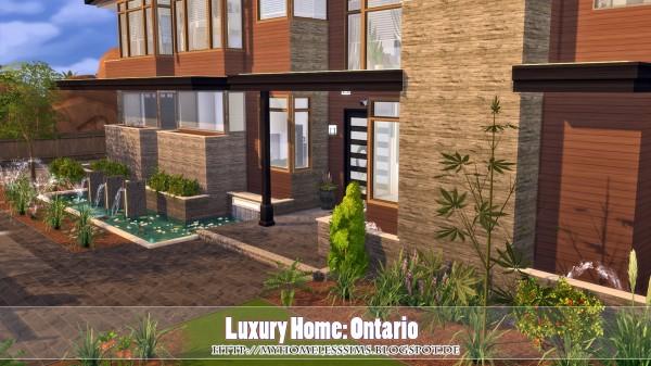 Homeless Sims: Luxury home Ontario