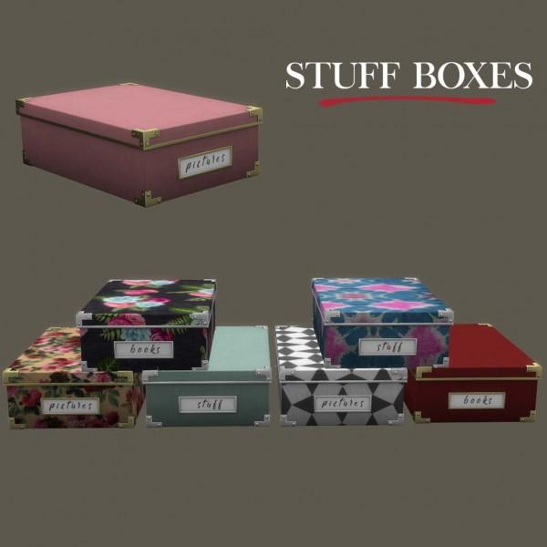 Leo 4 Sims: Stuff boxex