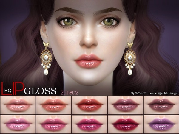 The Sims Resource: Lip 201802 by S Club