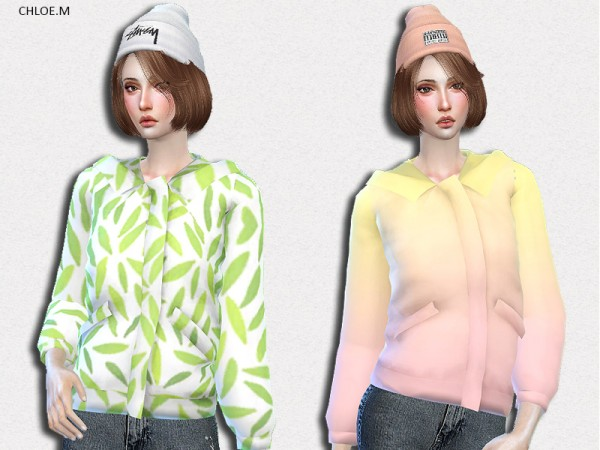 The Sims Resource: Winter coat by ChloeMMM