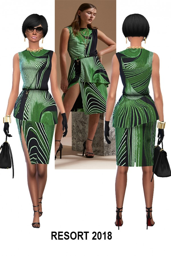 RHOWC: R.C. Collection dress