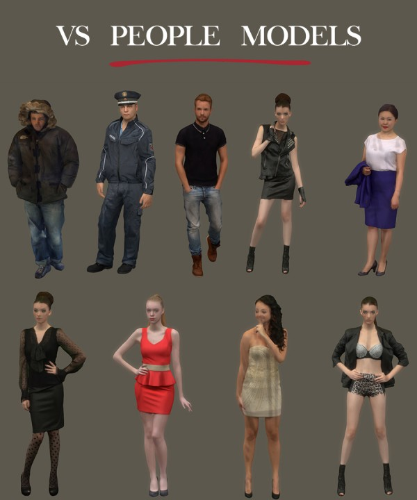 Leo 4 Sims People Models Decor Sims 4 Downloads