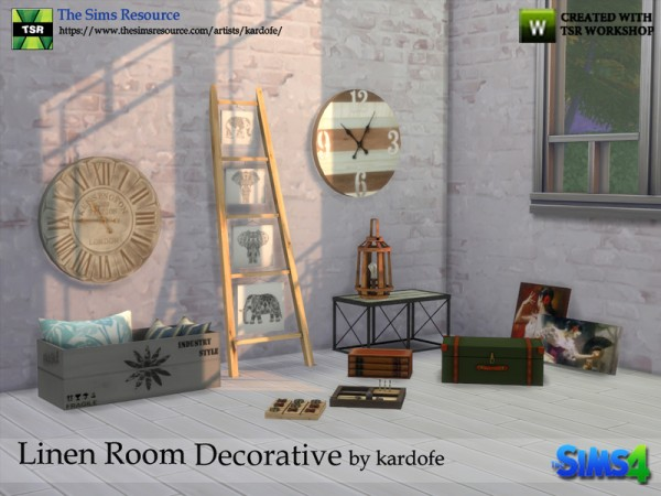 The Sims Resource: Linen Room Decorative by Kardofe