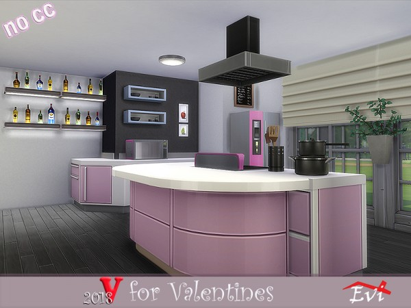 The Sims Resource: V for Valentines 2018 by evi