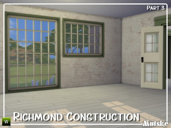 The Sims Resource: Richmond Constructionset Part 3 by mutske