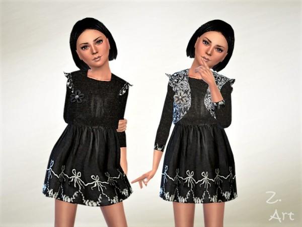 The Sims Resource: GirlZ. 13 dress by Zuckerschnute20