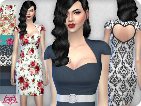 The Sims Resource: My love dress by Colores Urbanos