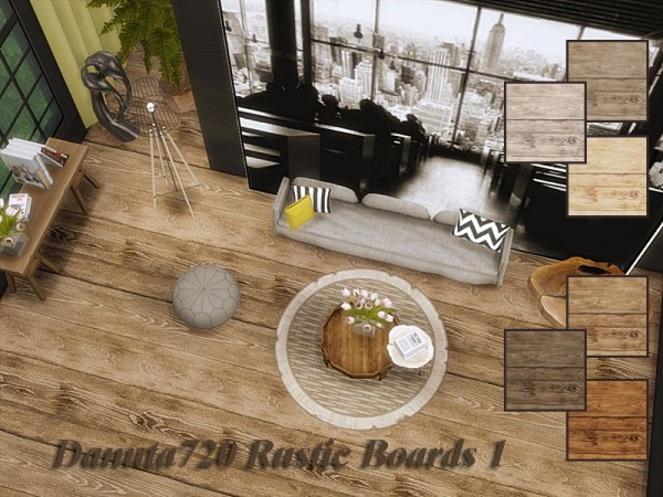 The Sims Resource: Rustic Boards 1 by Danuta720