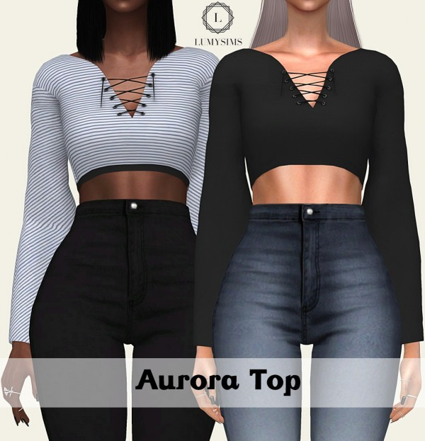 LumySims: Aurora top