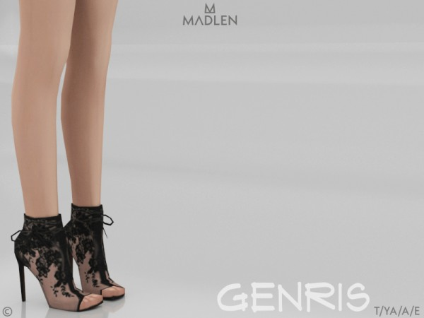 The Sims Resource: Madlen Genris Boots by MJ95