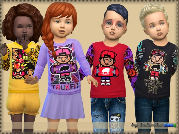 The Sims Resource: Sweater Truk Fit by bukovka