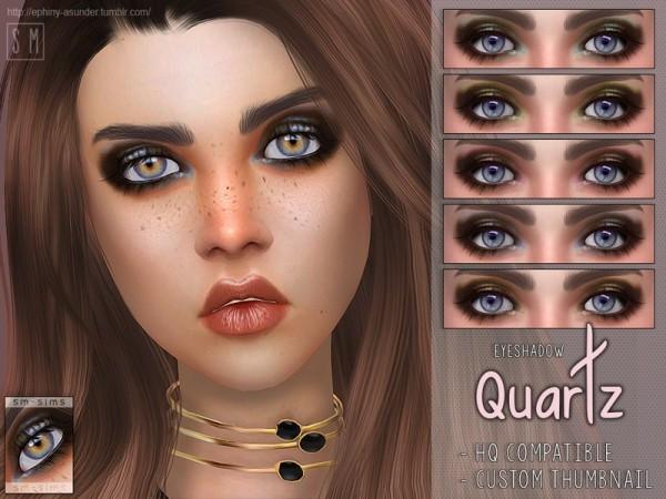 The Sims Resource: Quartz   Eyeshadow by Screaming Mustard