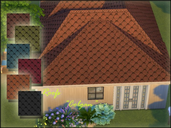 The Sims Resource: Roofs Colgan by parktina