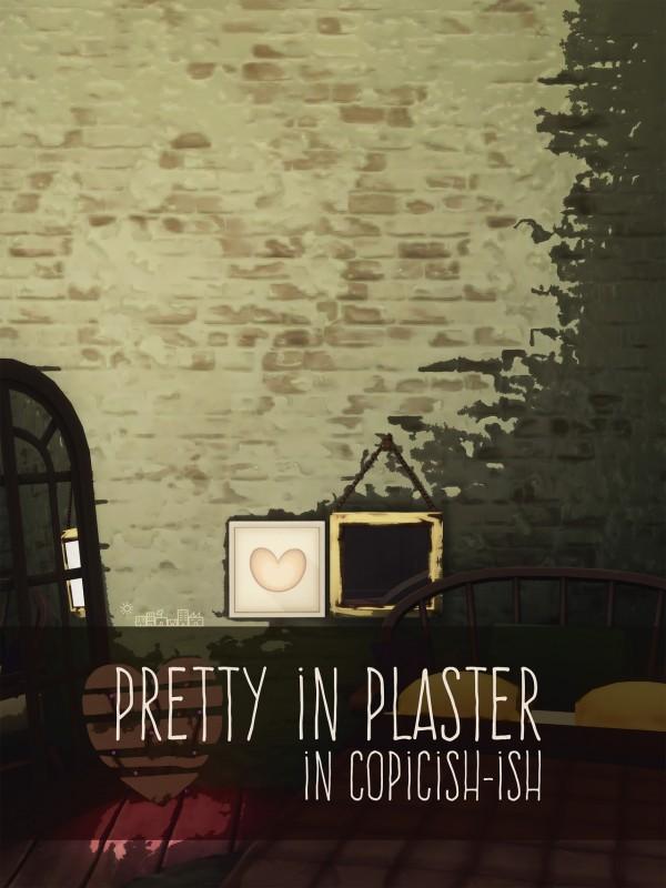 Picture Amoebae: Pretty in plaster walls
