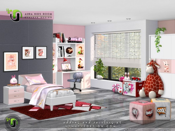 The Sims Resource: Aura Kidsroom by NynaeveDesign