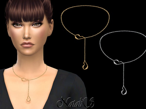 The Sims Resource: Your lips necklace by NataliS