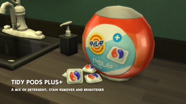 Mod The Sims Tidy Detergent And Pods By Littledica Sims